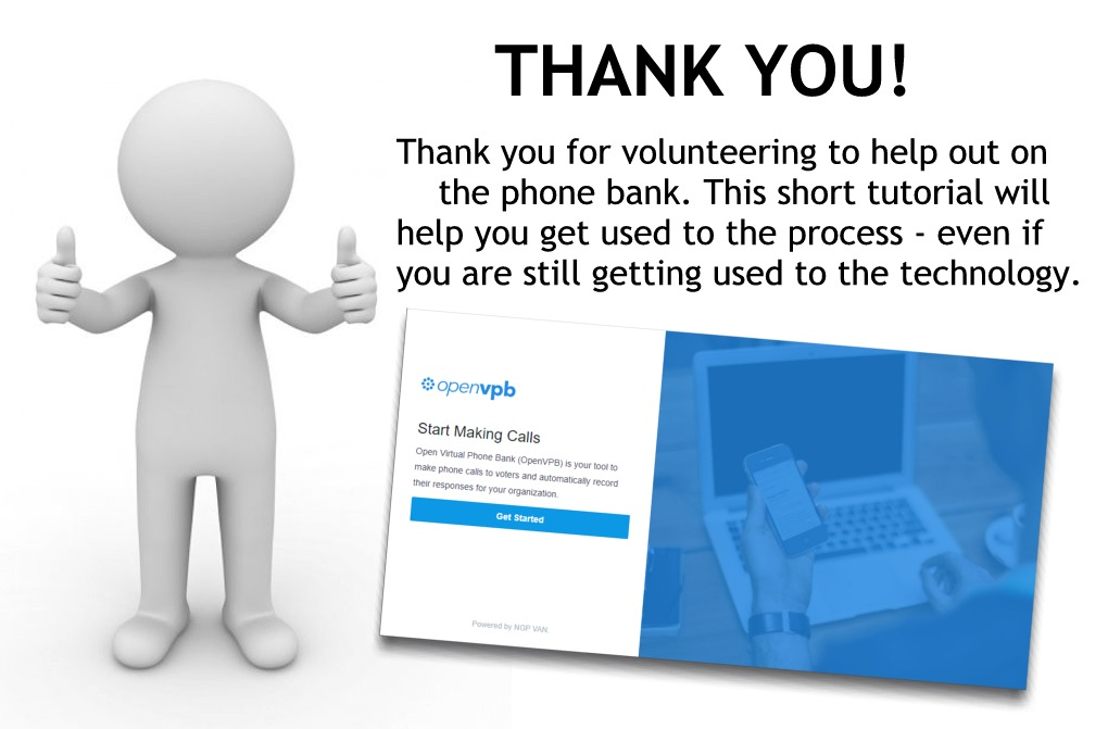 Thank you for volunteering. This tutorial will guide you through the process.