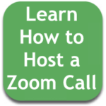 Learn how to host a zoom meeting