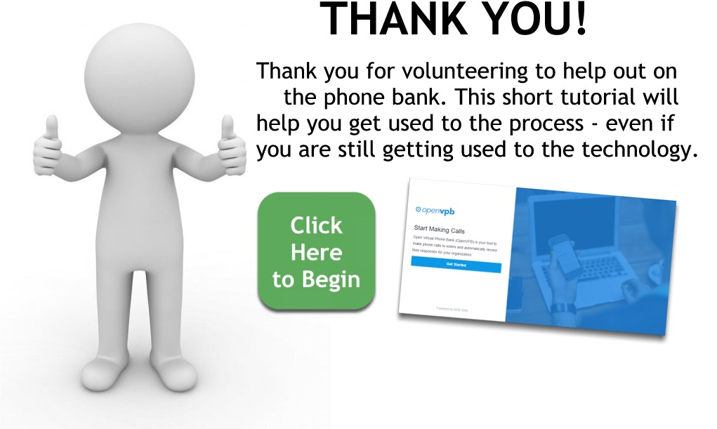 Thank you for volunteering