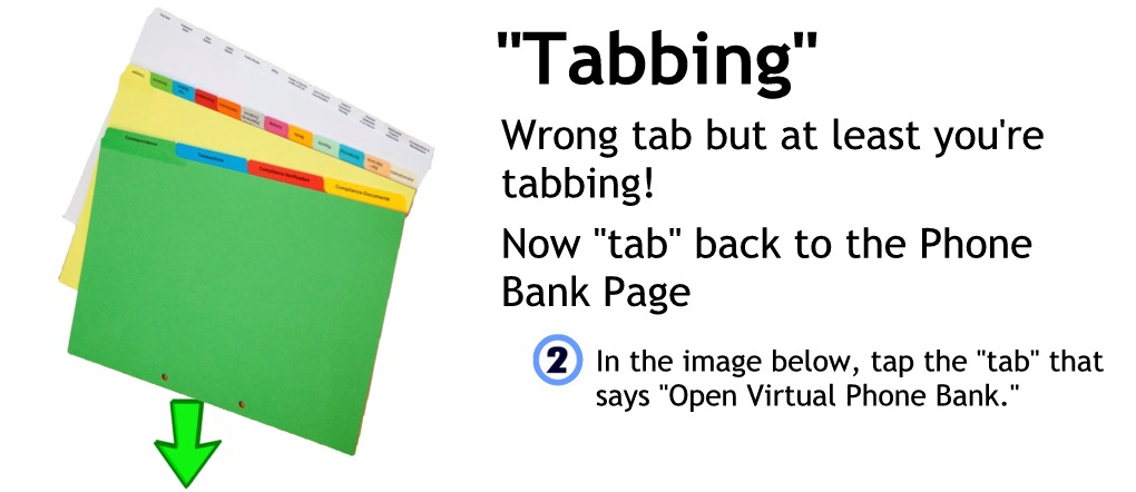 Wrong tab - try again