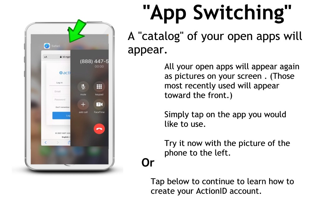 Switching apps without a home button part 4 - open apps